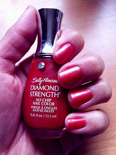 Models Own Haul And Notd Sally Hansen No 81 Diamond Strength